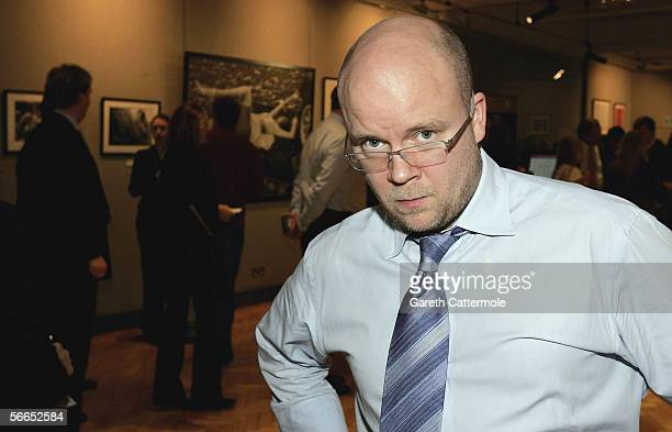 Toby Young attends the Love At First Sight reception and auction at Bonhams on January 23 2006 in London England The event hosted by Countess Isobel...