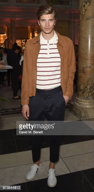 TobyHuntingtonWhiteley attends a private view of 'Frida Kahlo Making Her Self Up' at The VA on June 13 2018 in London England