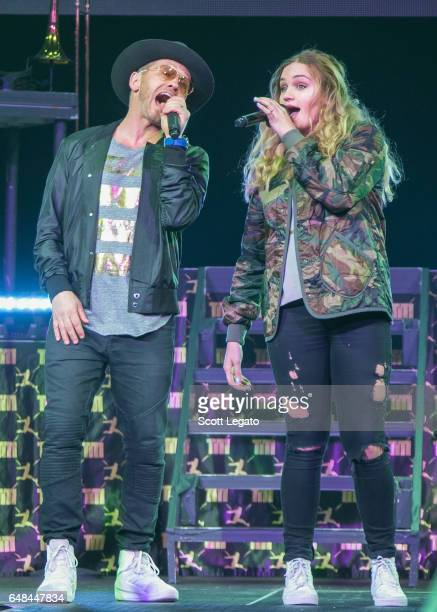 TobyMac and Hollyn perform at The Palace of Auburn Hills on March 5 2017 in Auburn Hills Michigan