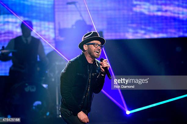 tobyMac peforms onstage during the 3rd Annual KLOVE Fan Awards at the Grand Ole Opry House on May 31 2015 in Nashville Tennessee