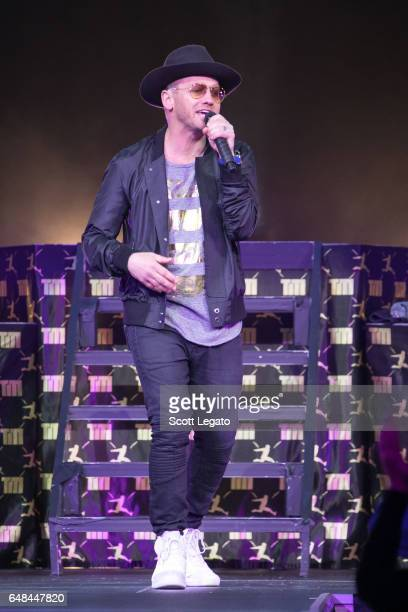 TobyMac performs at The Palace of Auburn Hills on March 5 2017 in Auburn Hills Michigan