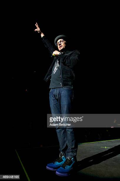 TobyMac performs at the Xcel Energy Center on February 14 2014 in St Paul Minnesota