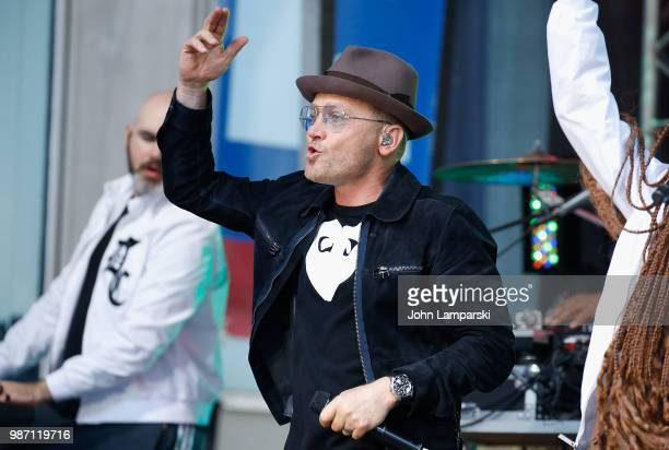TobyMac performs on Fox And Friends on June 29 2018 in New York City