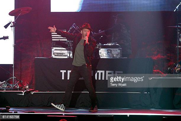 TobyMac performs onstage during the 2016 Dove Awards at Allen Arena Lipscomb University on October 11 2016 in Nashville Tennessee