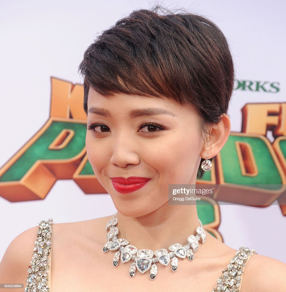 Toc Tien arrives at the premiere of 20th Century Fox's 'Kung Fu Panda 3' at TCL Chinese Theatre on January 16, 2016 in Hollywood, California.