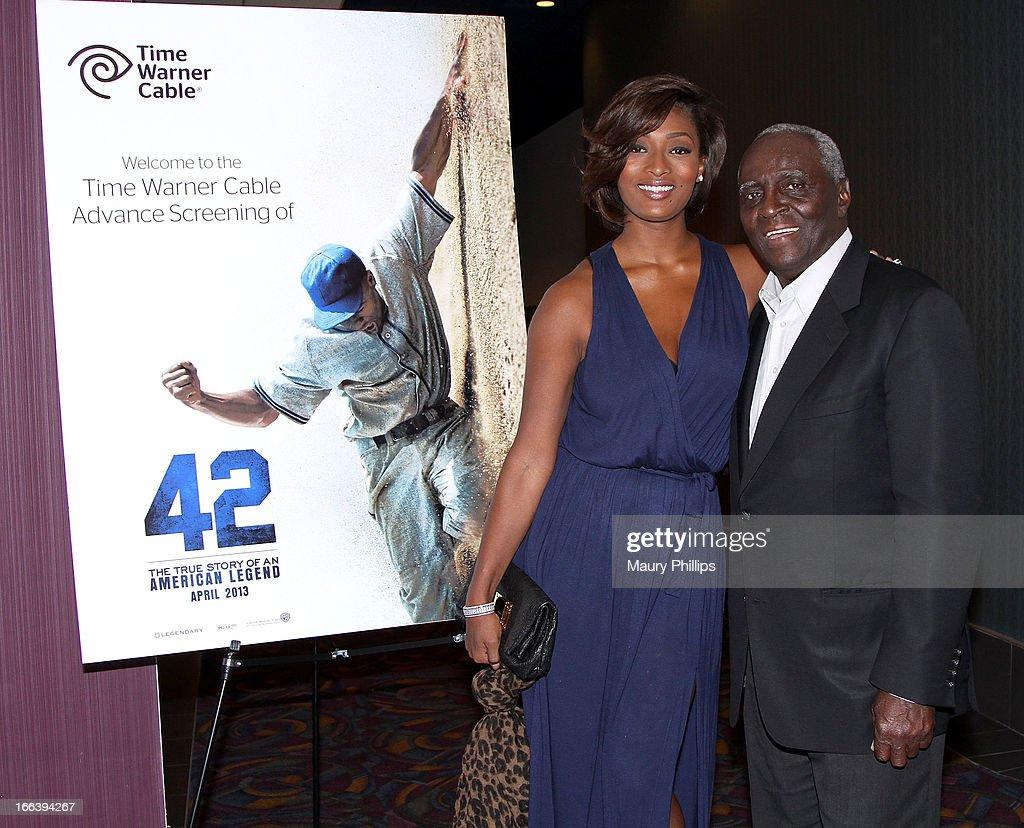 "Time Warner Cable's Los Angeles Customer Screening Of Warner Brothers ""42"""