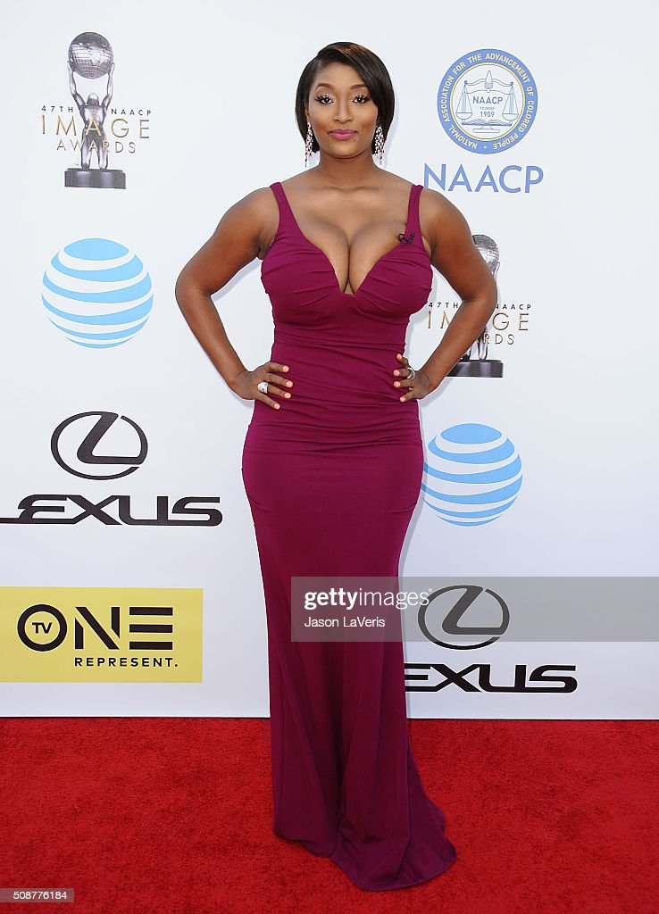 Toccara Jones attends the 47th NAACP Image Awards at Pasadena Civic Auditorium on February 5, 2016 in Pasadena, California.