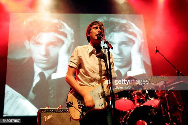 Tocotronic - Band, Rock music, Germany - Dirk von Lowtzow performing in Cologne, Germany