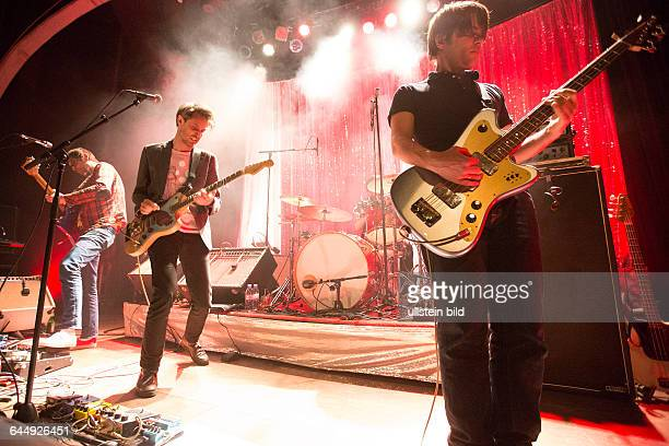 Tocotronic - die deutsche Rock-Band mit Saenger Dirk von Lowtzow bei einem Konzert im Hamburger Mojo Club.