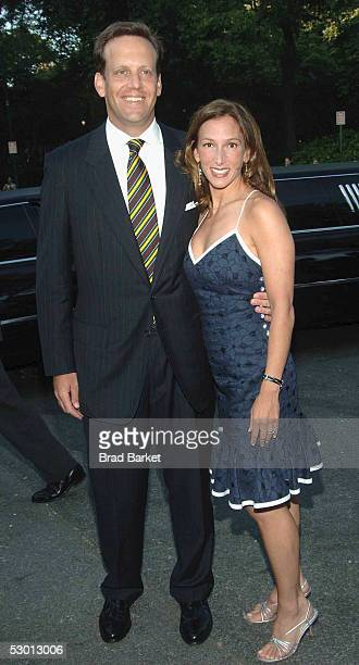 Tod Waterman and Allison Waterman arrive at the Fresh Air Funds Annual Spring Gala to Salute American Heroes at Tavern on the Green on June 2 2005 in...