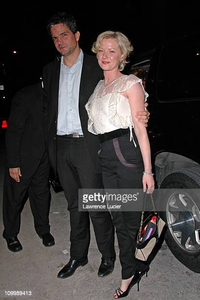 Tod Williams and Gretchen Mol during The Notorious Bettie Page New York City Premiere After Party at BED in New York City New York United States