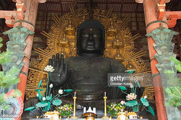 Todaiji Big Buddha Temple constructed in the 8th century, UNESCO World Heritage Site, Nara City, Nara Prefecture, Honshu Island, Japan, Asia
