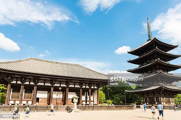 東大寺、日本の奈良 - 奈良市 ストックフォトと画像