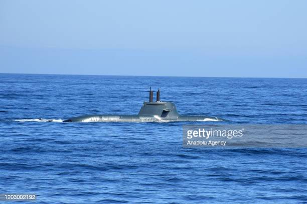 """Todaro submarine attends NATO's joint """"Dynamic Manta 2020"""" drill to increase the cooperation and level of preparedness of naval forces from nine..."""