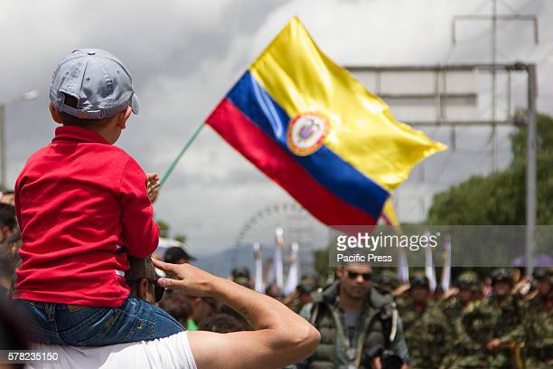 Today 20th of July was the celebration of the Independence day in Colombia in Bogotà more than 8000 members of the armed forces were part of the...