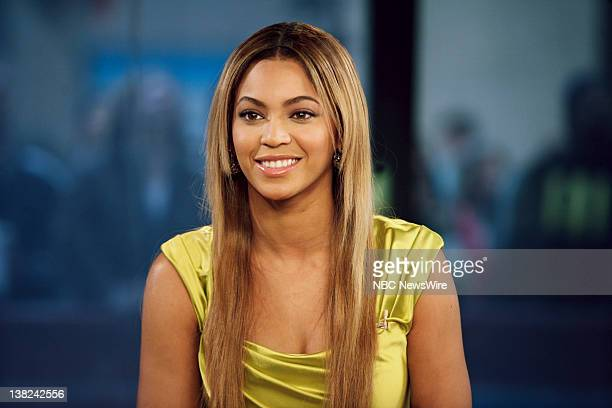 Actress and singer Beyonnce Knowles during an interview