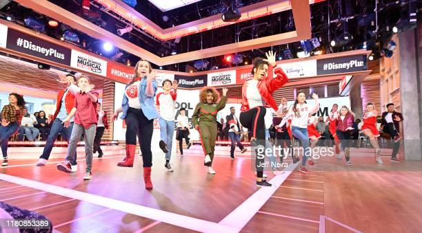 Today, Friday, November 8, the stars of the upcoming Disney+ series High School Musical: The Musical: The Series Joshua Bassett , Olivia Rodrigo ,...