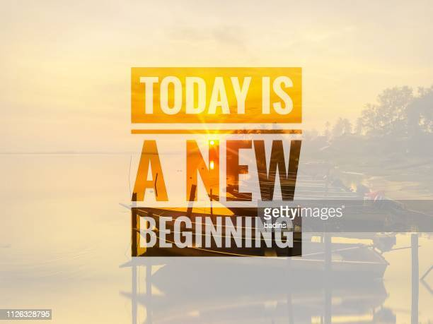 today is a new beginning - today single word stock pictures, royalty-free photos & images