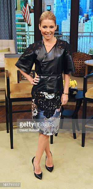 MICHAEL 2/14/13 Today Kelly is wearing Rachel Roy Embroidered Shoulder Leather Cropped Jacket from the Fall 2013 collection Rachel Roy Royal Flower...