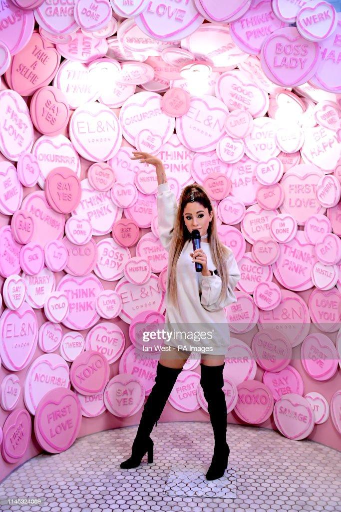 Madame Tussauds Ariana Grande Wax Figure Reveal - London : News Photo