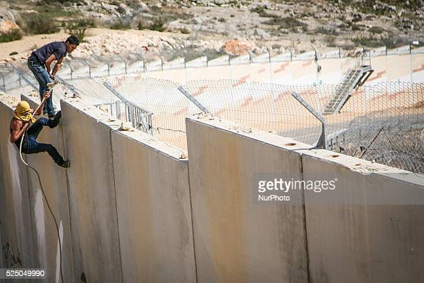 Today, March 7, 2014 Bil��€���in village held their weekly demonstration against the wall that confiscated much of their land to make way for Israeli...