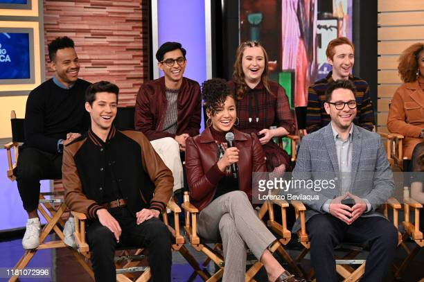 Today, Saturday, November 8, the stars of the upcoming Disney+ series High School Musical: The Musical: The Series Joshua Bassett , Olivia Rodrigo ,...