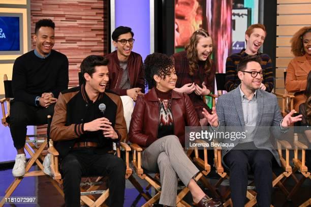 Today, Saturday, November 8, the stars of the upcoming Disney+ series High School Musical: The Musical: The Series Joshua Bassett , Olivia Rodrigo ,...