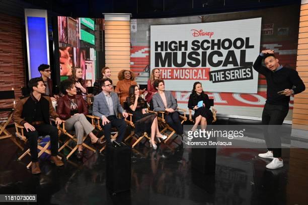 Today, Saturday, November 9, the stars of the upcoming Disney+ series High School Musical: The Musical: The Series Joshua Bassett , Olivia Rodrigo ,...