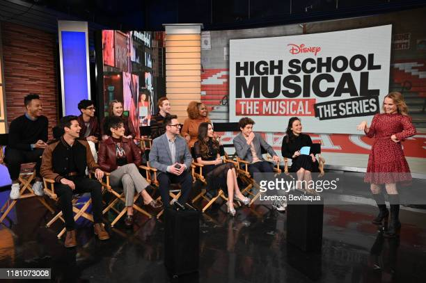 Today, Saturday, November 9, the stars of the upcoming Disney+ series High School Musical: The Musical: The Series Joshua Bassett , Olivia Rodrigo ,...