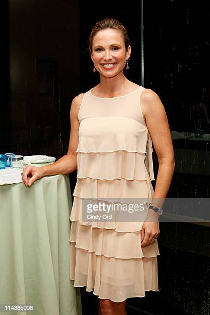 Today Show anchor, Amy Robach attends the Ocean Inspiration: A Tribute to Jacques Cousteau's 100th anniversary at The Sea Grill on May 18, 2011 in...