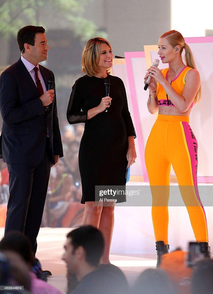 "Iggy Azalea Performs On NBC's ""Today"" : News Photo"
