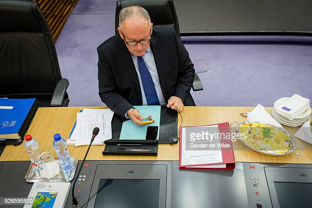 Today the College of Commissioners held a first exchange of views on the future European Agenda on Security during its weekly meetingFrans TIMMERMANS...