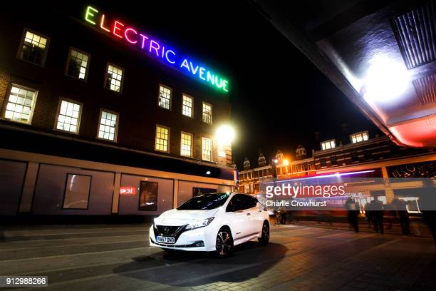 Today the new Nissan LEAF marked its official UK 'on sale' date parked at the crossroads of London's first electrified street and one of its most...