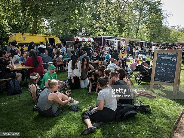 Today the second Food Truck Festival started in the Royal Park The food truck festival hosted 140 trucks with cuisines from around the world That's...