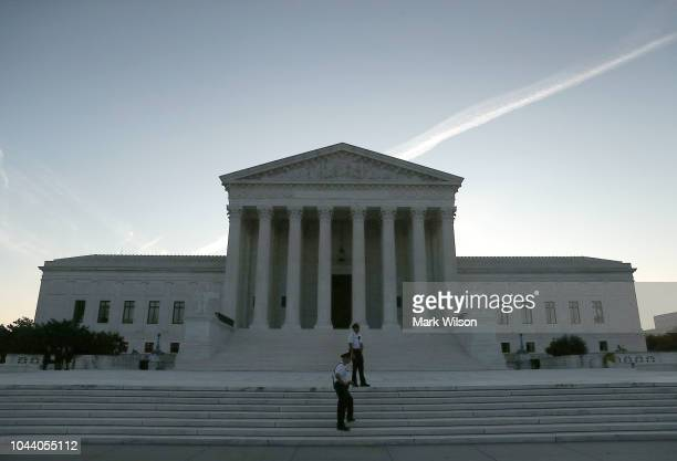 Today the US Supreme Court starts the first day of its new term on October 1 2018 in Washington DC The US Senate is currently embroiled in a fierce...