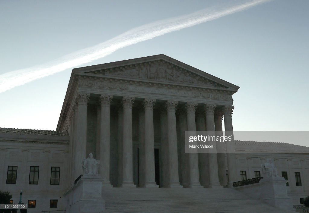 U.S. Supreme Court Begins A New Term : News Photo