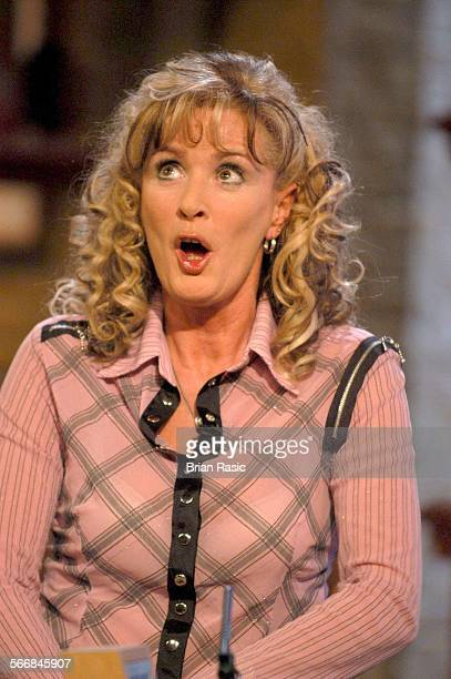 Today With Des And Mel' Tv Programme Britain 25 Feb 2004 Beverley Callard