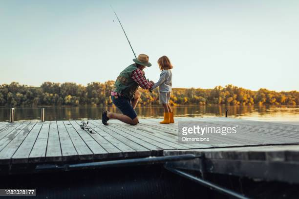 today's a good day for fishing - fishing stock pictures, royalty-free photos & images