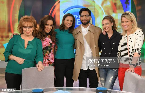 THE VIEW Today's guest include actor Jussie Smollett and Conservative Commentator Tomi Lahren on Walt Disney Television via Getty Images's The View...