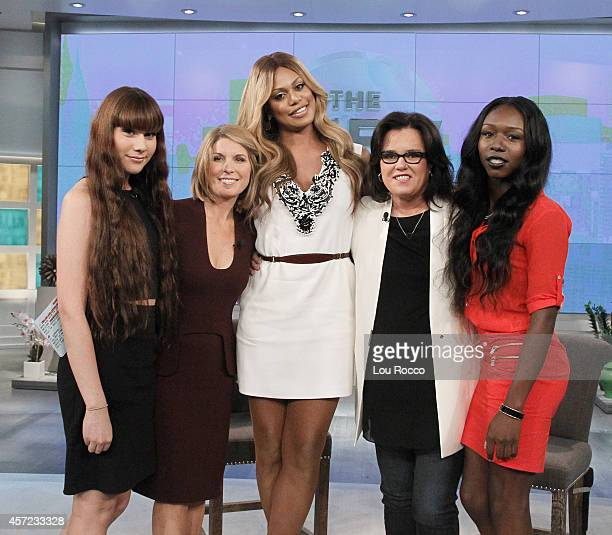 THE VIEW Today's guest include Laverne Cox and Meghan McCain on Walt Disney Television via Getty Images's The View The View airs MondayFriday on the...