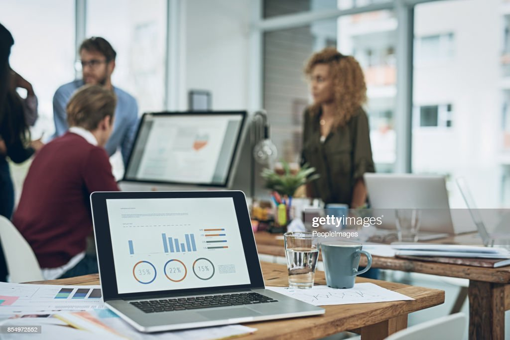 Today's meeting has finance in focus : Stock Photo