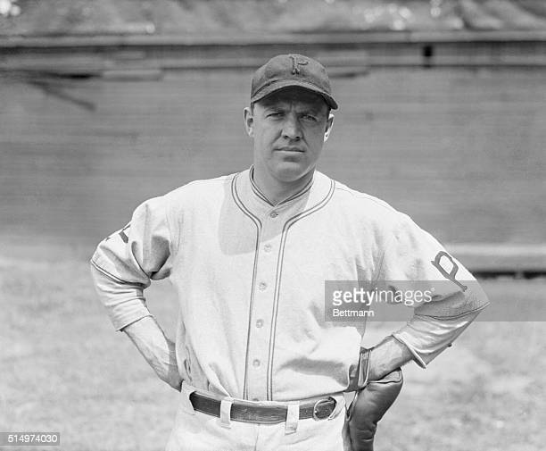 Today's outstanding pitcher in both leagues...Burleigh Grimes of the Pittsburgh Pirates is the outstanding pitcher of both leagues for he has only...
