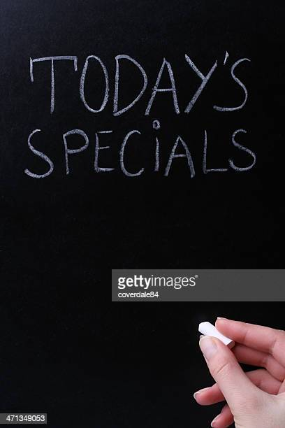 Todays Specials on Blackboard