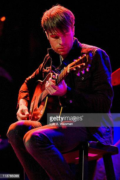 Todd Abels of The Soldier Thread performs an acoustic set at the House of Blues Chicago on May 4, 2011 in Chicago, Illinois.