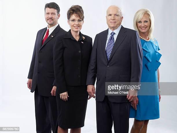 Todd and Sarah Palin with John and Cindy McCain