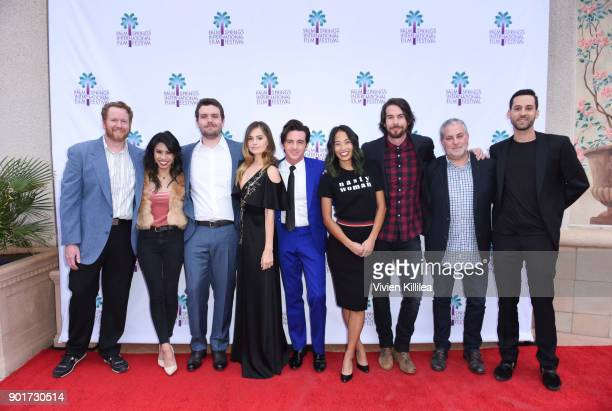 Todd Berger Ashley Argota Mark Korshak Debby Ryan Drake Bell Jen An Marc Reid and Jerry Trainor and guests attend 29th Annual Palm Springs...