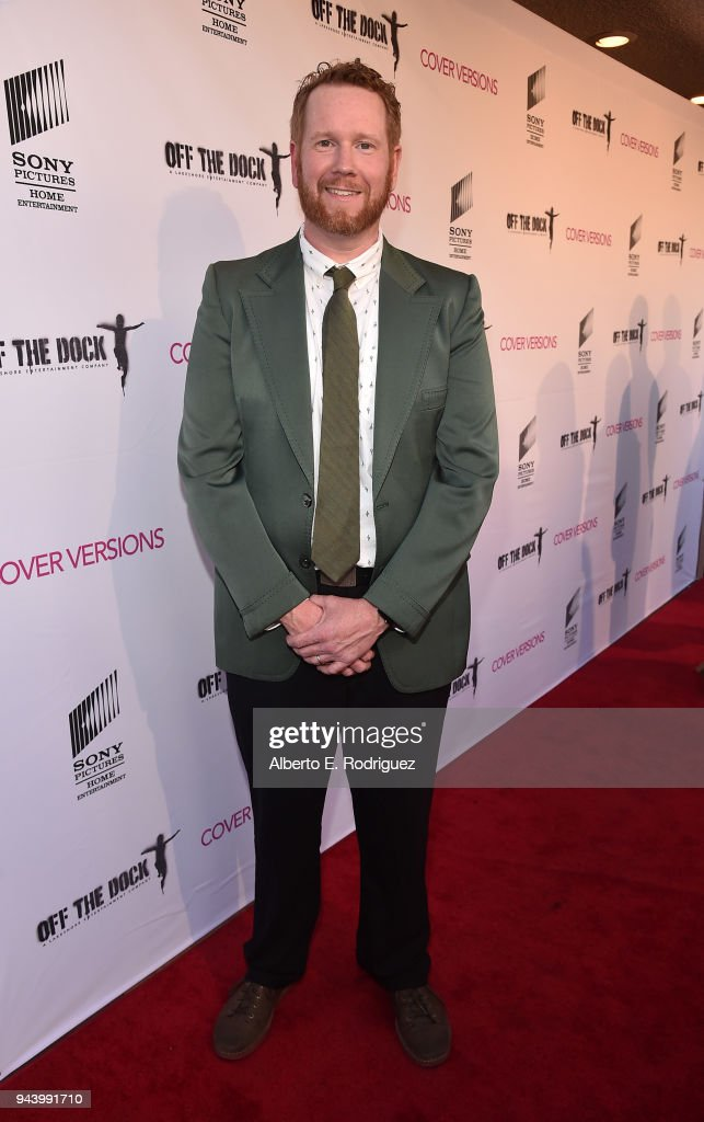 Todd Berger attends the premiere of Sony Pictures Home Entertainment and Off The Dock's 'Cover Versions' at The Landmark Regent on April 9, 2018 in Los Angeles, California.