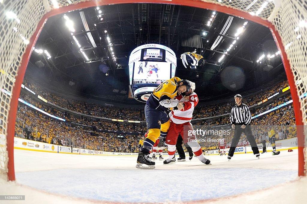 Detroit Red Wings v Nashville Predators - Game Two