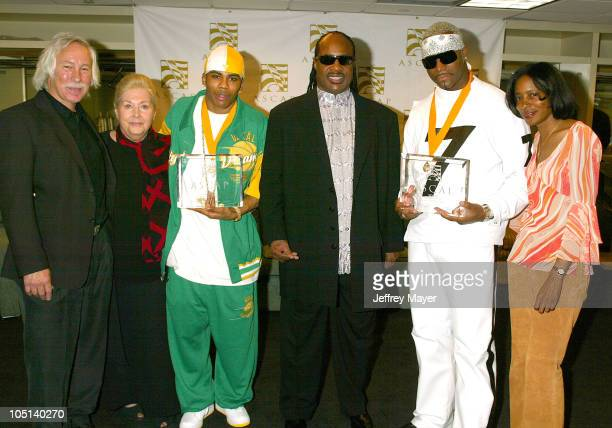 Todd Brabec Exec VP ASCAP Marilyn Bergman Pres Chairman of the Board ASCAP Nelly Stevie Wonder Seven Jeanie Weems VP ASCAP