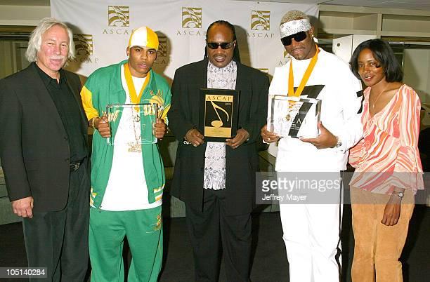 Todd Brabec Exec VP ASCAP Nelly Stevie Wonder Seven Jeanie Weems VP ASCAP